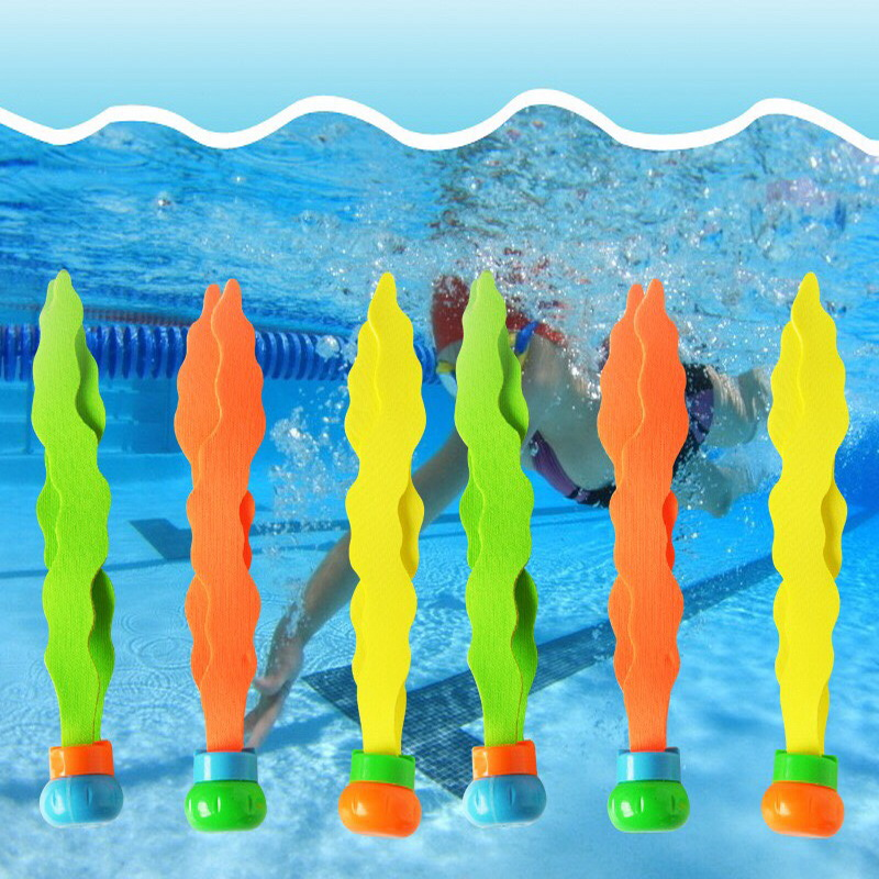 Retail Package 2018 New Summer Rocket Throwing Toy Funny Swimming Pool Diving Game Toys Children Underwater Dive Toy