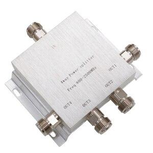 Image 5 - جهاز تقسيم محوري يعمل بالترددات اللاسلكية من 1 إلى 2/3/4/8 طرق فاصل طاقة 380 2500 ميجاهرتز مقوي إشارة مقسم 50 أوم N كابل توصيل جهاز تقسيم نسائي