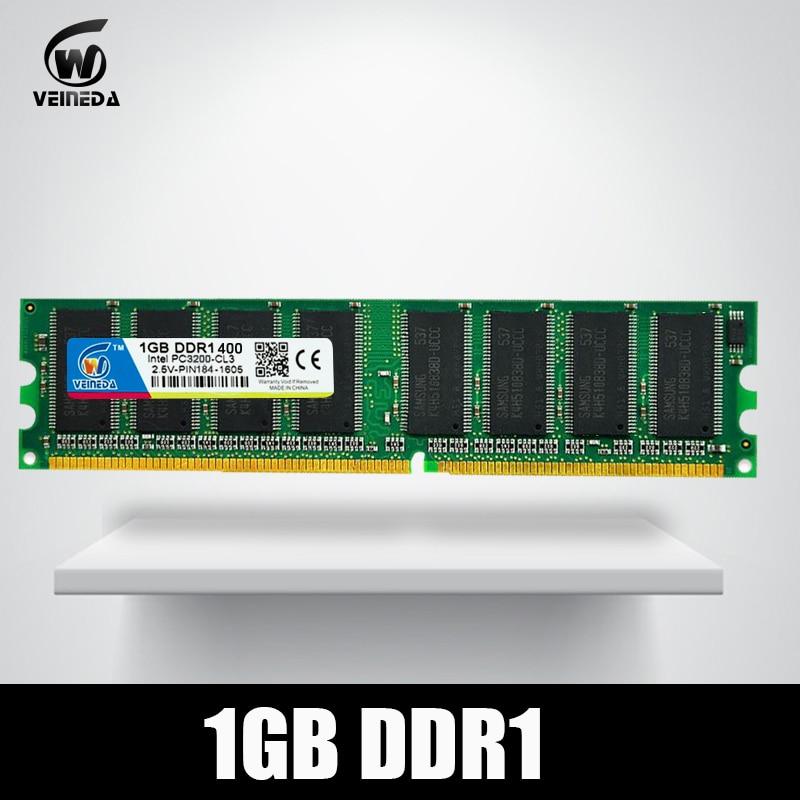 ddr memory ram DDR 1 1gb Rams 400 PC3200 Support PC2100 DDR 266MHz Sdram PC3200 ddr