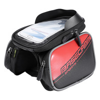 Waterproof MTB Road Bike Frame Bag Bicycle Top Tube Frame Saddle Bag Phone Bag Pouch For