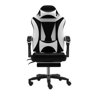 High quality WCG chair computer chair lacework office chair lying and lifting staff armchair with footrest high quality fashion ergonomic computer chair wcg gaming chair 180 degree lying leisure office chair lifting swivel cadeira
