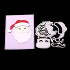 ABOOM Santa Claus Metal Cutting Dies Scrapbooking Christmas Dies DIY Craft Embossing Dies Card Making Stencil Embossing Folder