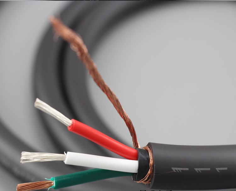 Free Shipping Meter Furutech FP-314Ag OFC Series Silver Plated Hifi Power Cable Power Wire For Audo Power Cable