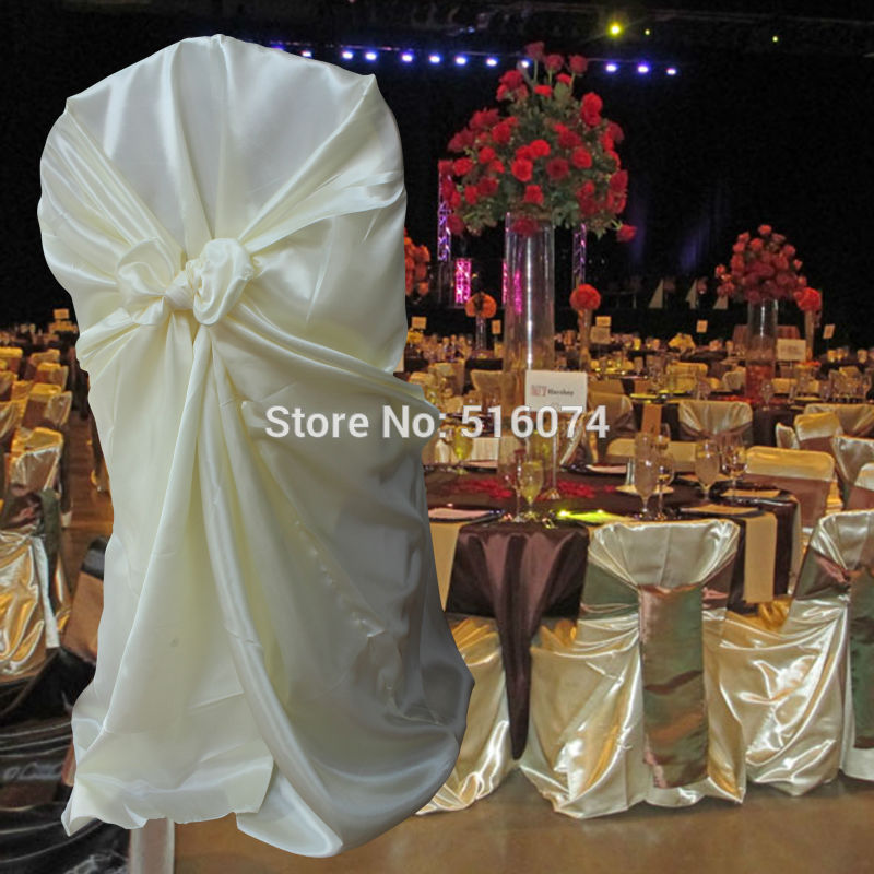 chair cover express hawaii yellow club 1 pcs self tie satin wedding banquet hotel party decoration product supplies 110cm 140cm in from home garden on aliexpress com