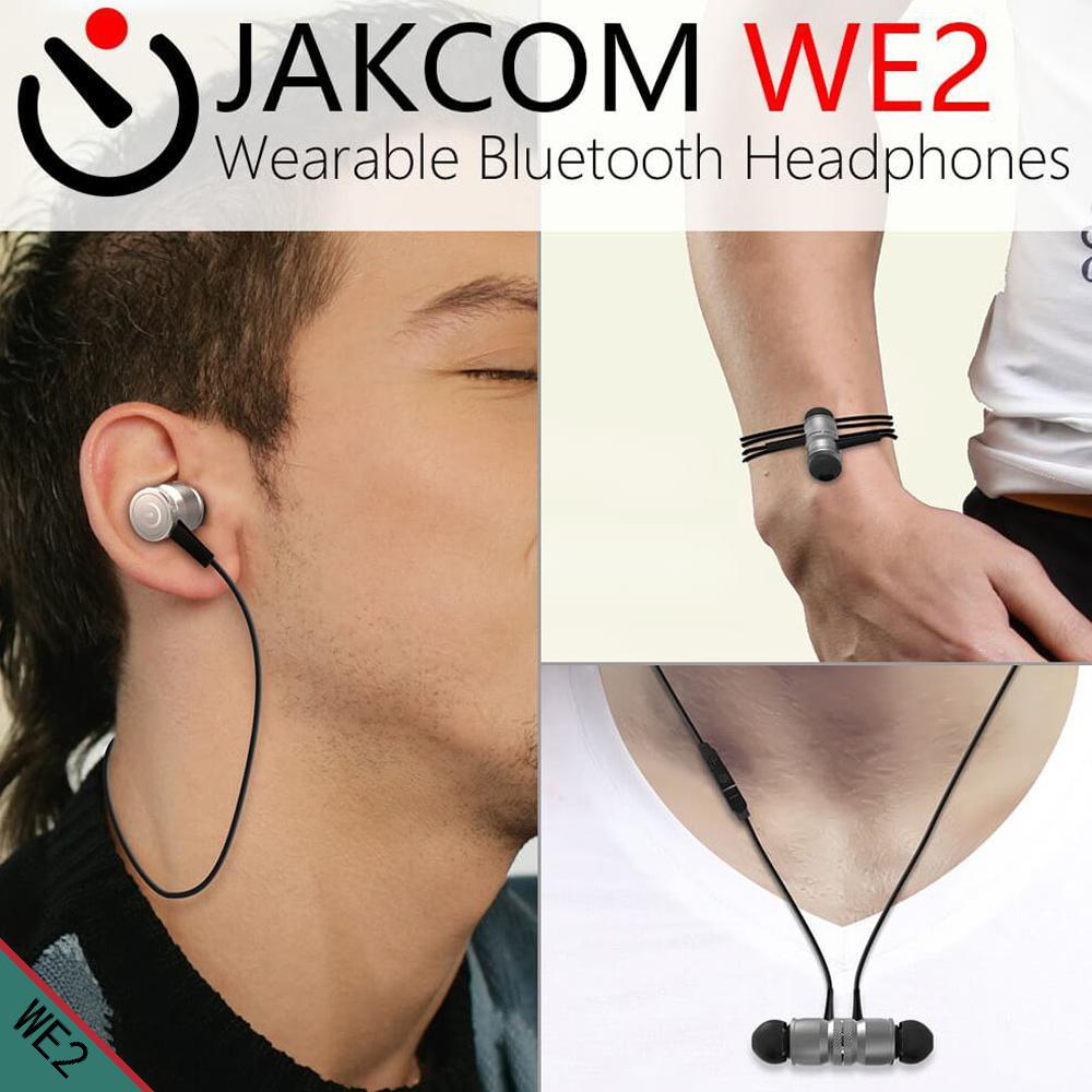 JAKCOM WE2 חכם לביש אוזניות מכירה לוהטת ב חכם אביזרי כמו zmi sporttas גאדג 'טים inteligentes
