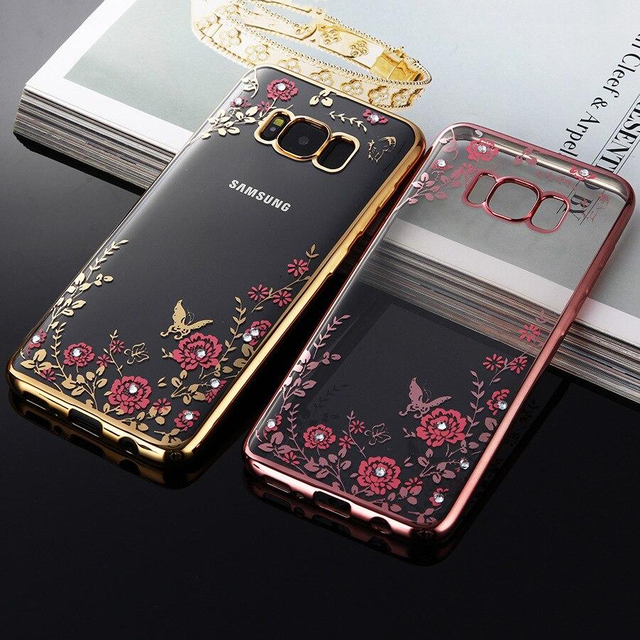 Soft Glitter Case For Samsung Galaxy S8 Plus S7 Edge S6 S5