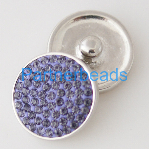 product Rhinestone snap 20mm button with high quality alloy bottom for ginger snap button jewelry from www partnerbeads com KB3823