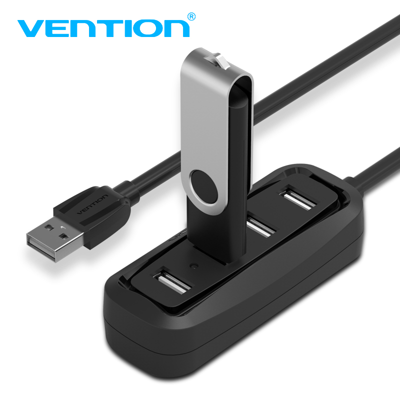 Vention High Speed  4 Ports USB 2.0 Hub USB Port USB HUB Portable OTG Hub USB Splitter  for Apple Macbook Air Laptop PC Tablet ...