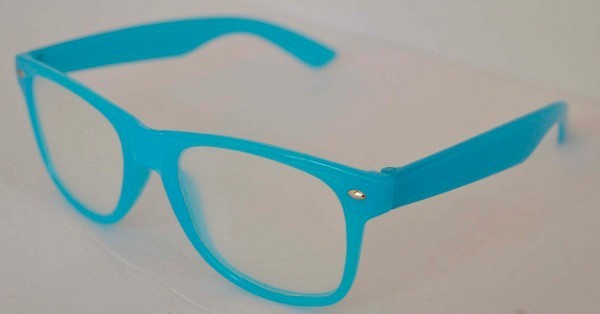 Colorful Glow In The Dark Eyewear Frame Diffraction Glasses In