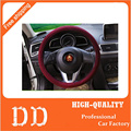 High Quality Flax Fabric Handmade Car Steering Wheel Car Cover Universal Fits Most Car Styling In Summer Four Seasons General