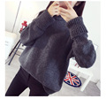 Fashion New Sweaters Women Winter Jumpers Turtleneck Oversized Sweater Knitted Burderry Femme Pull Korean Loose Sudaderas