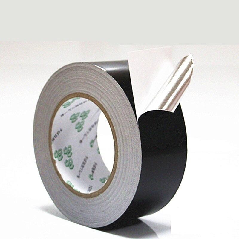 Black aluminum foil tape waterproof anti-aging high temperature resistant shielding foil tape 50 metersBlack aluminum foil tape waterproof anti-aging high temperature resistant shielding foil tape 50 meters