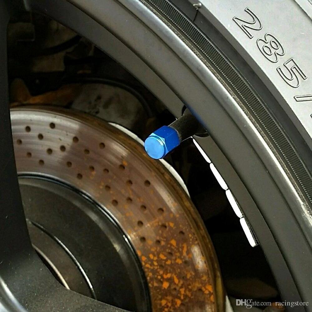 4 VUNA RACING GUMA VENTILA STEMA KAO PROTIV ALUMINIJ BLUE UNIVERSAL - Auto dijelovi - Foto 2