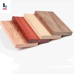 Sy ferramentas produzir bandejas de Alimentos matérias-primas de madeira DIY 200*110*20mm (1 peça) de noz faia teca