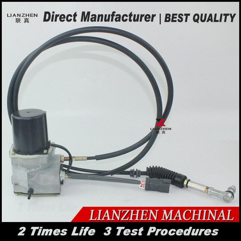 Maceração Motor 21EN-32220 para peças de escavadeira Hyundai Atuador Accel R305-7R R210 R200