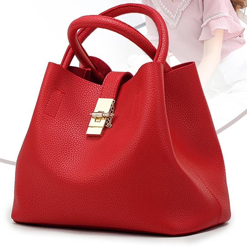Vintage Women's Handbags Famous Fashion Brand Candy Shoulder Bags Ladies Totes Simple Trapeze Women Messenger Bag