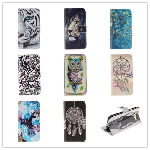 Delux PU Leather Flip Cover Samsung Galaxy J5 Case Card Holder Soft Back Skins  -  APbest Electronic Store store