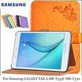 Для Samsung Galaxy Tab В SM-T355C PU защитный Кожаный Чехол SM-T350 Защитной Оболочки/Кожи 8 дюймов SM-T355C/SM-T350