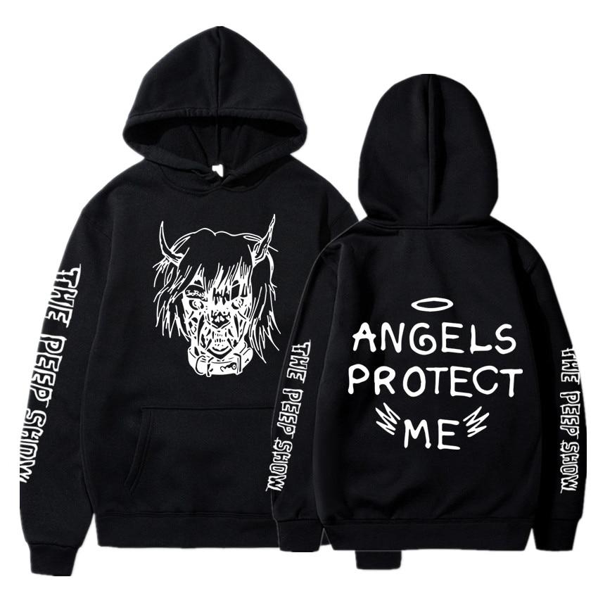 Hot Sale Lil Peep Hooded Men/Women Clothes 2019 Harajuku Hip Hop Casual Tops Hoodies Sweatshirts Men Print Plus Size 4XL