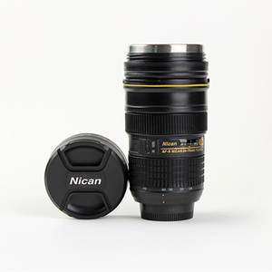 Image 3 - Tasse dobjectif dappareil photo 350 400 ML gobelet isolé dacier inoxydable de thé (modélisation Nikon AF S NIKKOR 24 70mm f/2.8G ED) tasse à café