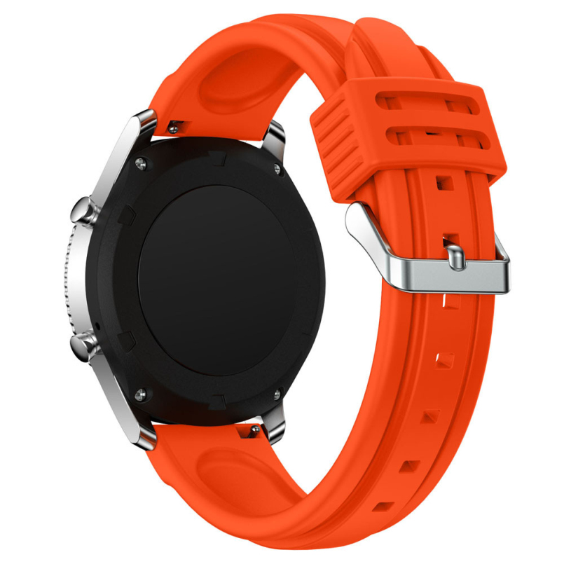 Excellent Quality Watch Band, 20mm Soft Silicone Man Watch Replacement Bracelet Strap For Samsung Gear S3 Classic Feb 21