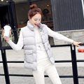 New 2016 plus size female cotton-padded jacket down vest female design slim wadded jacket vest outerwear winter jacket women