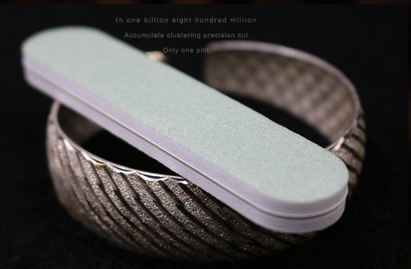 20pcs 9*2*0.7cm Silver Polish Stick Polishing Wipe Bar Buffing Pad Grinding Sand Surface Tarnish Remover Silver Jewelry