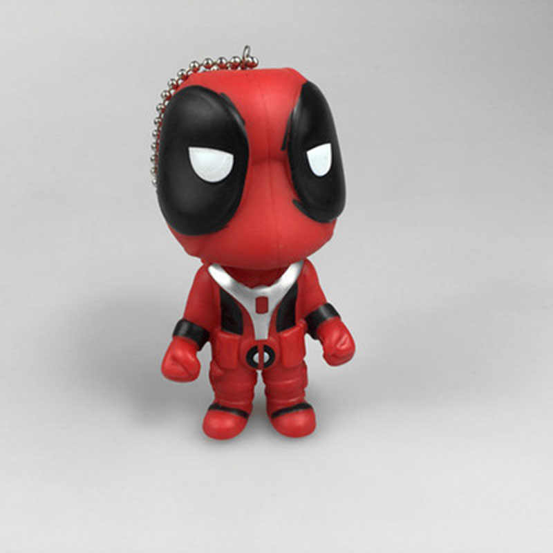 Brinquedos Do Bebê LXHZS X-men Cosplay Filme Catoon Boneca Anime PVC Modelo Boneca agitar Deadpool Figuras de Ação Brinquedo