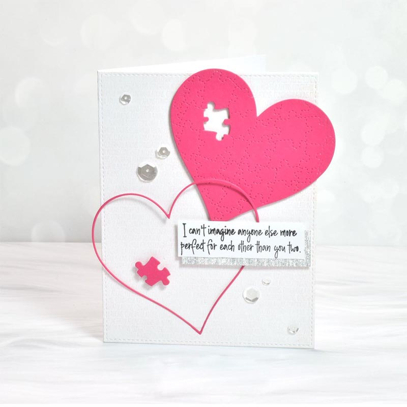 Heart Patch  Metal Cutting Dies Stencils For DIY Scrapbooking Decorative Embossing Suit Paper Card Die Template New 2019