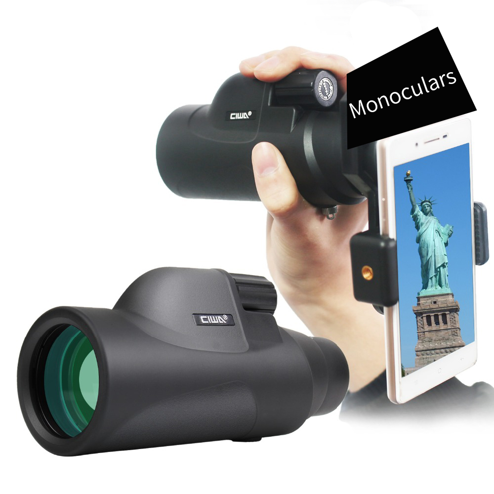 My HD Binoculars Waterproof Black Monocular Telescope vision king Professial Handheld Monocular Professional Hunting Telescope