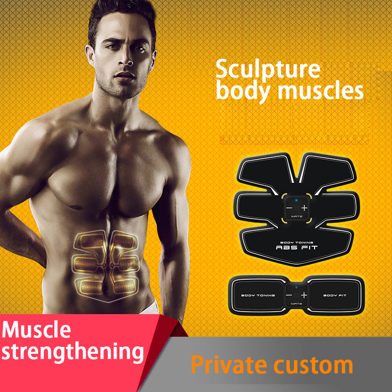 Multi-Function EMS abdominal exerciser Device Hous abdominal muscles intensive training Electric Weight Loss Slimming Massager smart ems electric pulse treatment massager abdominal muscle stimulator exerciser device loss weight slimming training massager