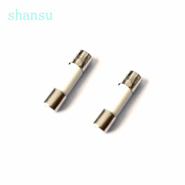 10PCS 6*30mm Ceramic fuse tube fuse 6x30mm 250V  0.5A 1A  2A  3A 4A 5A 6A 8A 10A 12A 15A 20A 25A 30A