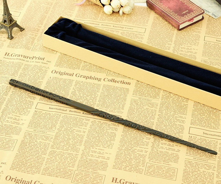Colsplay Metal Core Newest Quality Deluxe COS Harry Potter Magical Sirius Black Magic Wands/Stick With Gift Box Packing