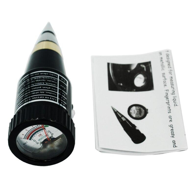 все цены на new arrival handheld moisture humidity meter ph tester for Garden soil Metal probe VT-05 10-80% Hygrometer 18% off онлайн