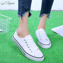Mhysa 2019 Spring and autumn new fashion canvas shoes women'