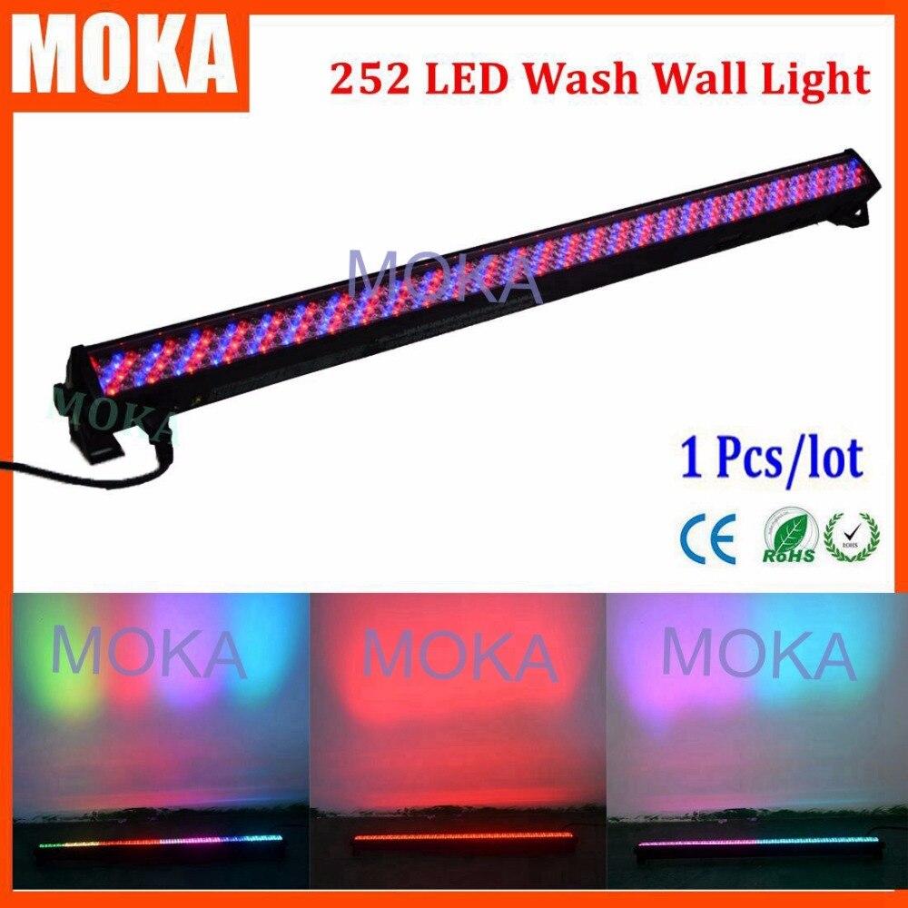 252 мыть светодиодный светильник настенный rgb этапе стирка Освещение DMX512 Диско свет 3 Булавки XLR Цвет смесь пол свет