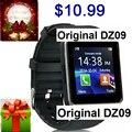 Dz09 smart watch para apple teléfono android soporte sim tf pk gt08 smartwatch u8 reloj inteligente inteligente portátil electrónica p20