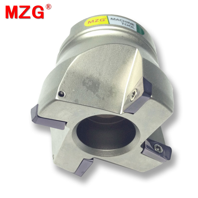 MZG RAP400R100-32-6T Clamped CNC Cutting End Mill 75 Degree Precision Face Milling Cutter