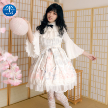 Sweet Lolita Dress Halloween Jsk  Fashion Tea Party Rabbit Cute Japanese Kawaii Girls Prince