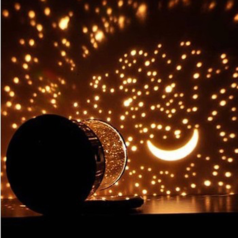 Romantic Led Starry Night Sky Projector Lamp Kids