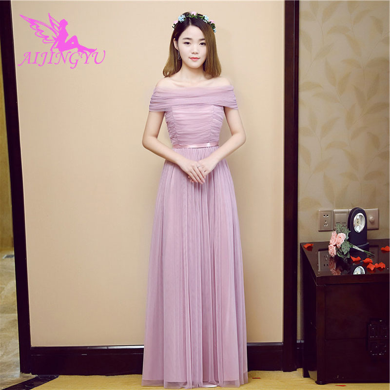 AIJINGYU 2018 sexy prom   dresses   women's gown wedding party   bridesmaid     dress   BN569