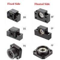1PC BK10 BF10 BK12 BF12 BK15 BF15 FK10 FF10 FK12 FF12 FK15 FF15 EK10 EF10 EK12 EF12 Support Unit for Ballscrew SFU1605 SFU1204