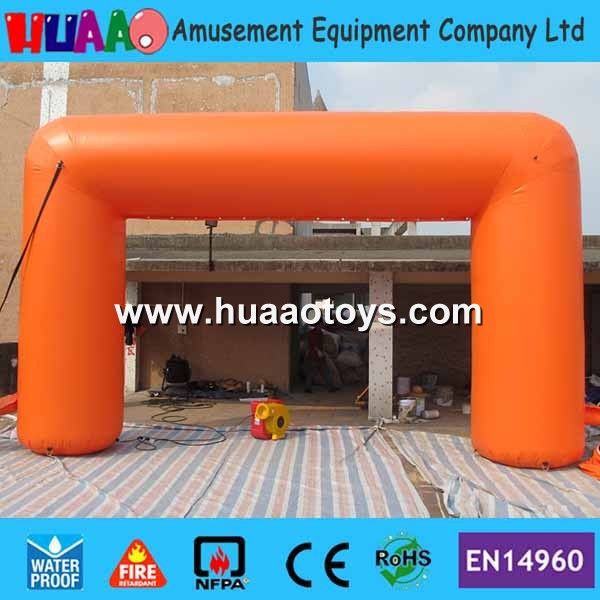 PVC Orange Inflatable Arch Inflatable Archways for advertising events(Free blower+free logo)PVC Orange Inflatable Arch Inflatable Archways for advertising events(Free blower+free logo)