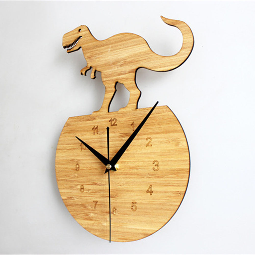 Advanced 30cm Art Wood Wall Clock Luxury Natural Rural Style Vogue ...