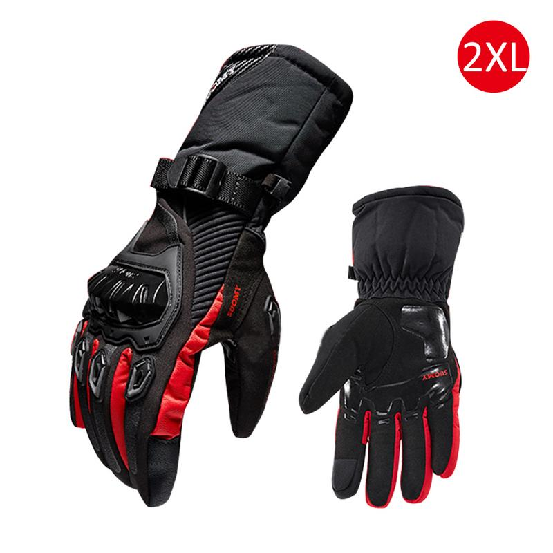 Image 2 - New Winter Motorcycle Gloves Waterproof And Warm Four Seasons Riding Motorcycle Rider Anti Fall Cross Country Gloves-in Gloves from Automobiles & Motorcycles