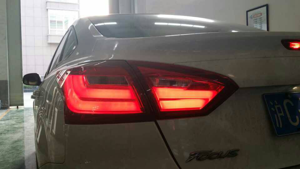 Fett Lights For Ford Focus Tail Bmw Design 2017 Led Light Rear Lamp Drl Brake Park Signal In Car Embly From Automobiles