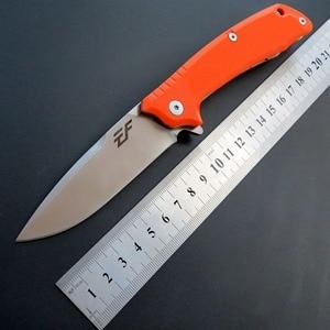 Image 2 - Eafengrow חדש סגנון EF223 מתקפל קמפינג סכין D2 פלדת להב G10 ידית חיצוני טקטי סכיני EDC יד כלים