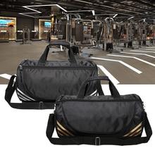 купить Sports Gym Travel Bags Yoga Fitness Bag Travel Men Woman Shoulder Fitness Training Bags Large Space Outdoor Handbag по цене 829.6 рублей