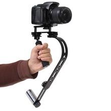 Алюминиевый сплав pro ручной стабилизатор видео steadicam для dslr canon nikon sony gopro hero камеры camcord устойчивый steadycam