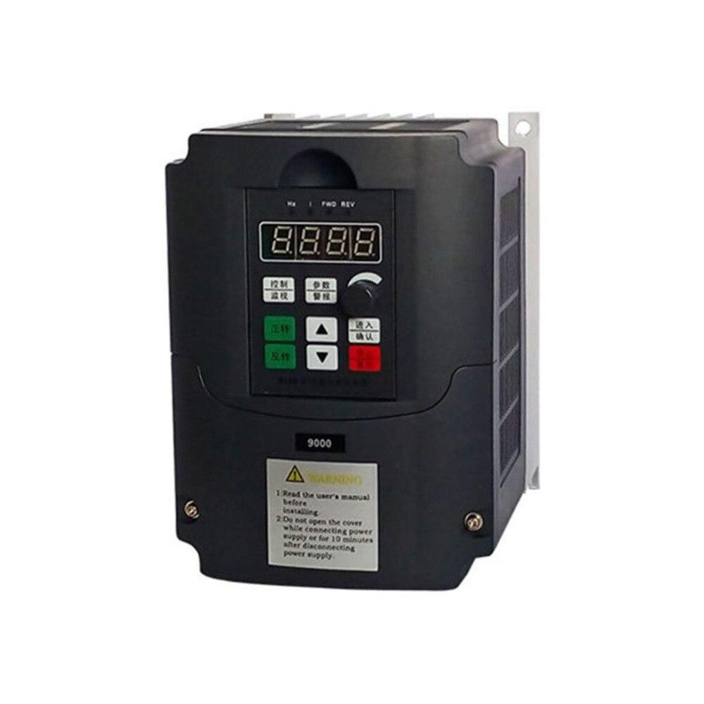 Portable 0.75kw/1.5kw/2.2kw-G 220V Single Phase Frequency Converter 220V 3 Phases Output Frequency Inverter Built-in User Timer кальсоны user кальсоны